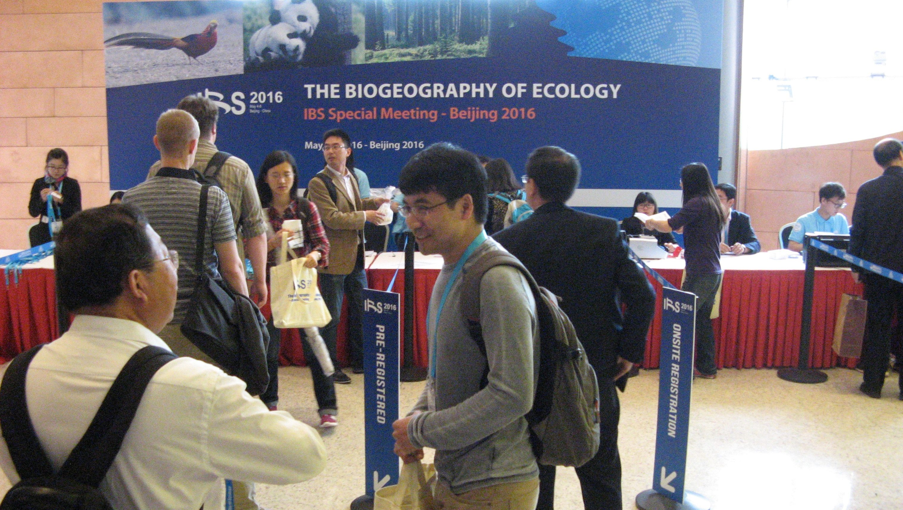 International Biogeography Society